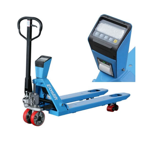 Tracked Pallet Jack: Weighing Scale Pallet Jacks