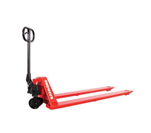 Manual Pallet Jacks Raymond LCS55 Unique Fork Frame Sizes