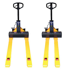 Yellow Jack-It Adjustable Pallet Jack