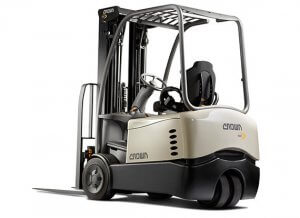 Crown SC Series Counterbalance Forklift