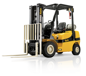 Yale MX Pneumatic Forklift
