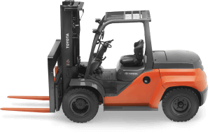 Toyota Large Pneumatic Forklift
