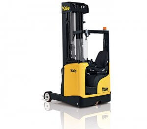 Yale Moving Mast Reach Truck