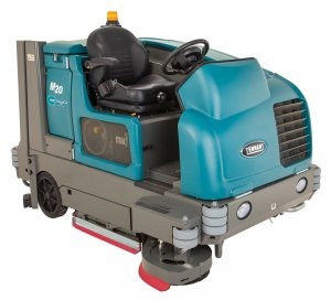 M20 Integrated Rider Combination Sweeper-Scrubber Tennantco